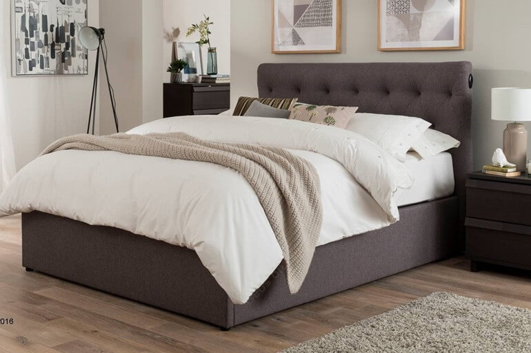 [CLEARANCE] Kaydian Versace Electric Ottoman Bed