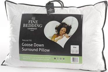 Goose Down Surround Pillos - The Fine Bedding Company