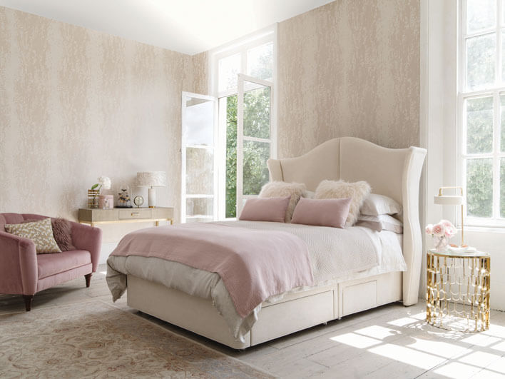 Hypnos Willow Natural Sublime Divan Set