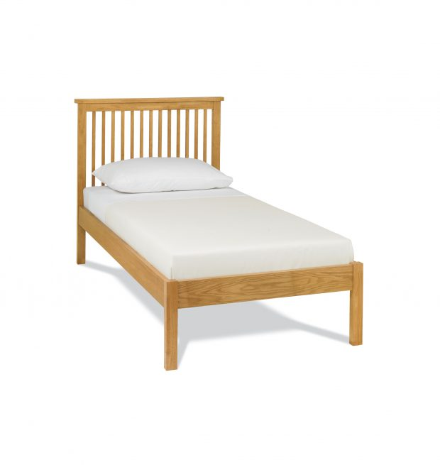 Atlanta Bedstead Oak Low Footend