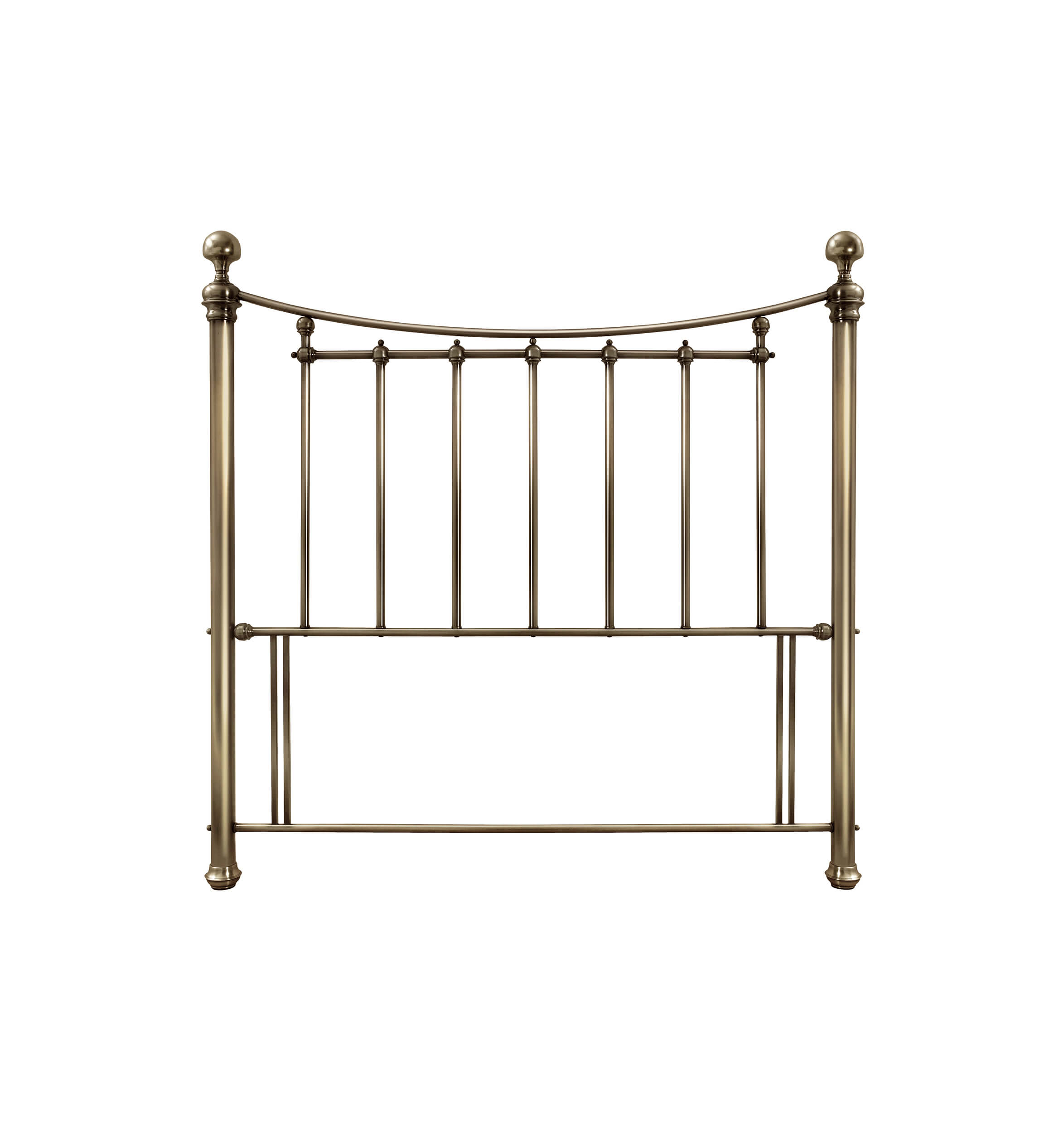 Bentley Designs Isabelle Headboard Antique Brass