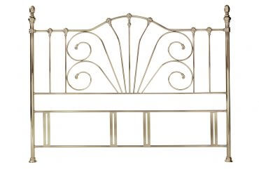Rebecca Headboard Antique Brass