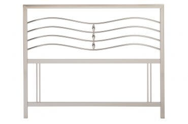 Revo Satin Nickel headboard
