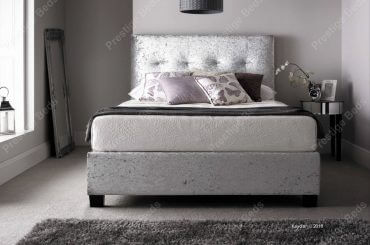 Kaydian Walkworth Bed in Silver