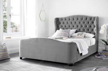 Duchess Bed Velvet Plume