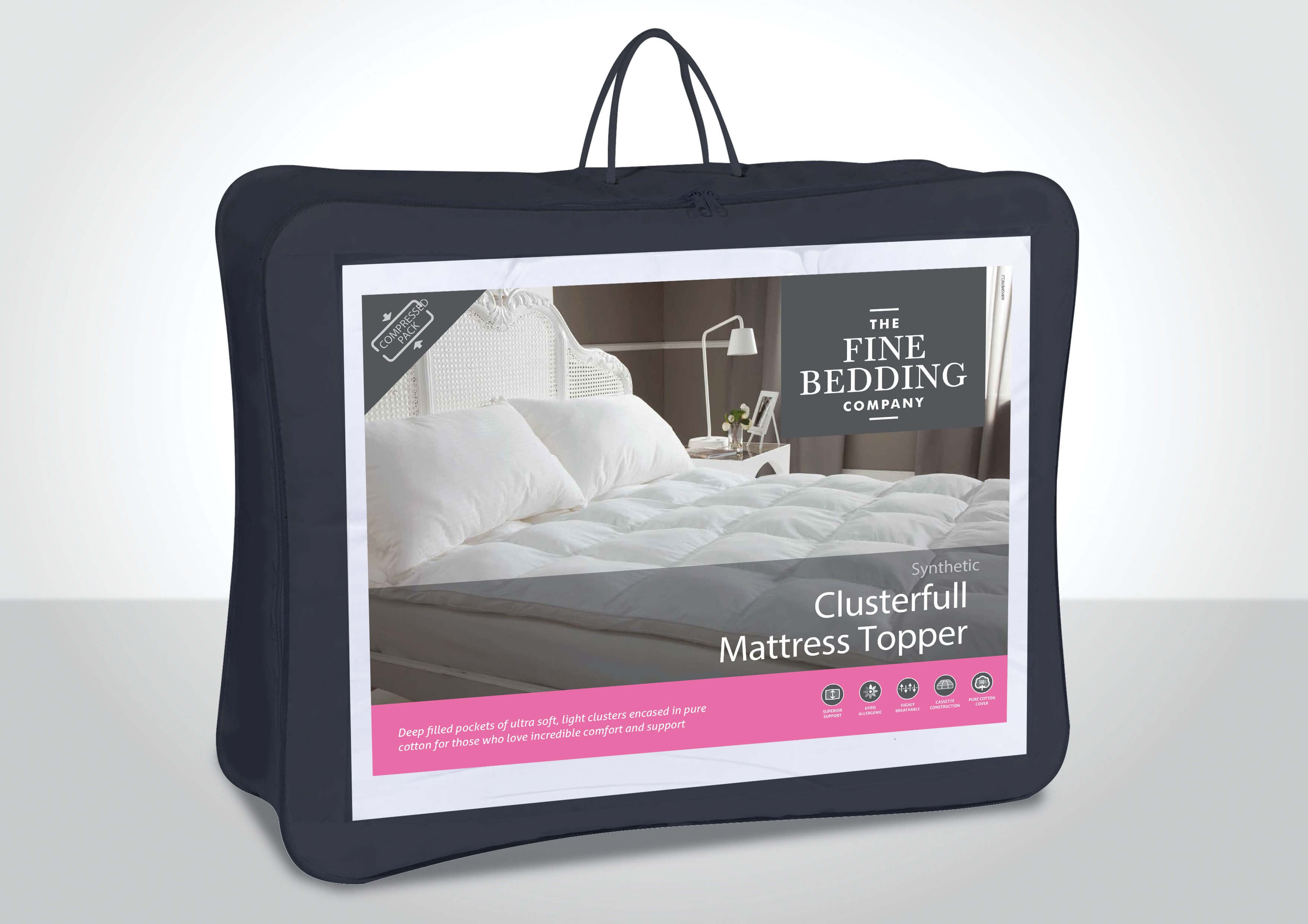 Clusterfull Mattress Topper - The Fine Bedding Company