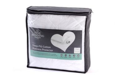 Deep Fill Cotton Mattress Protector