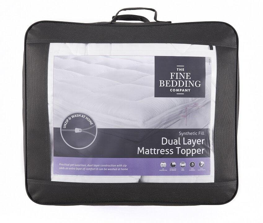 Dual Layer Mattress Topper - The Fine Bedding Company