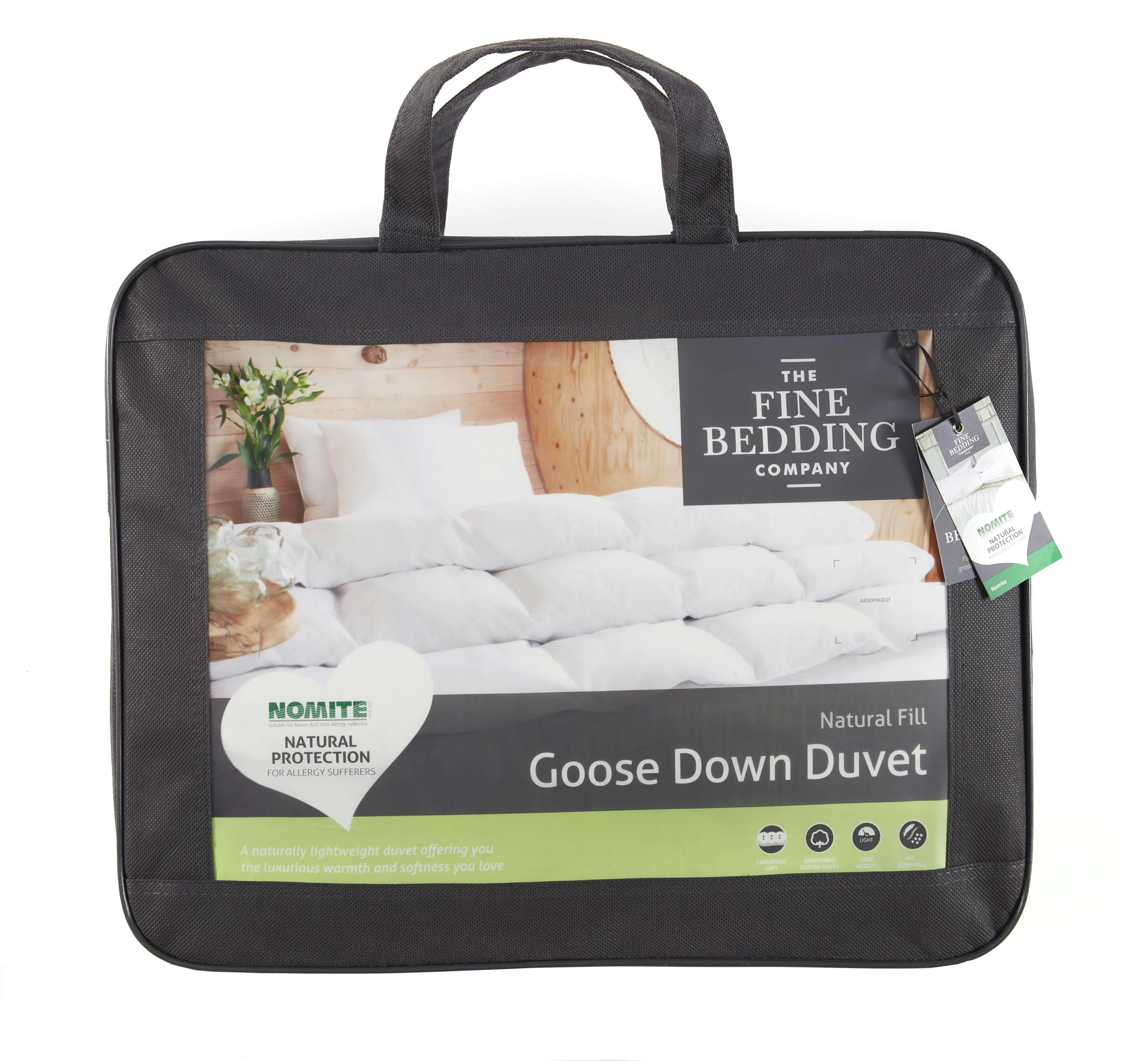 Goose Down Duvet - The Fine Bedding Company