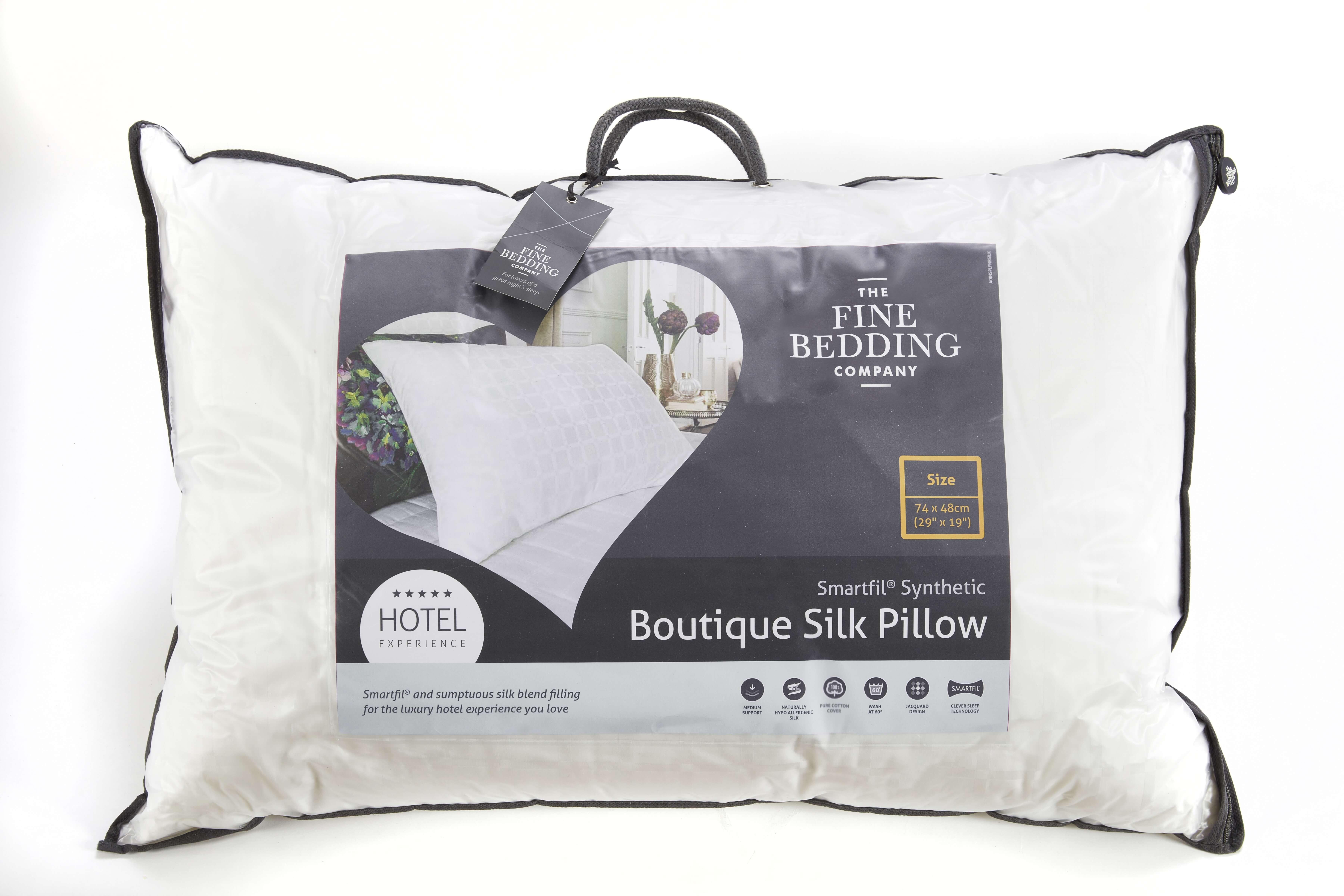 Boutique Silk Pillow - The Fine Bedding Company
