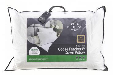 goose feather down pillow