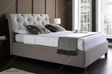 Brunswick Ottoman Bed, Linen