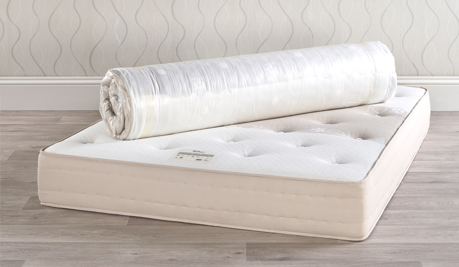 Relyon Wool 1090 Roll Up Mattress Prestige Beds