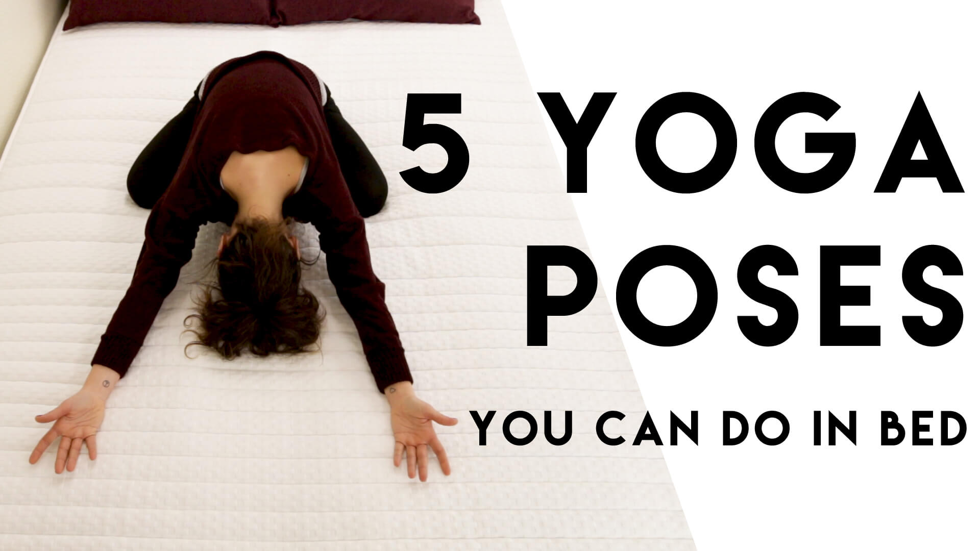 Top 5 Yoga Poses To Do In Bed Prestige Beds