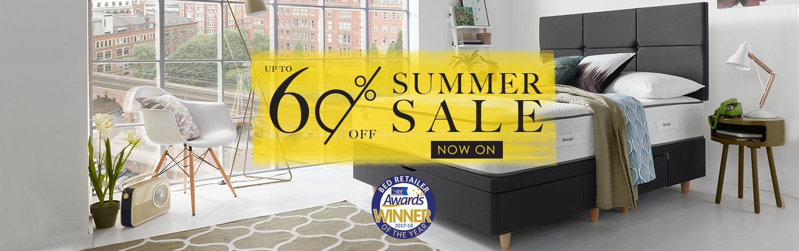 Summer Bed Sale