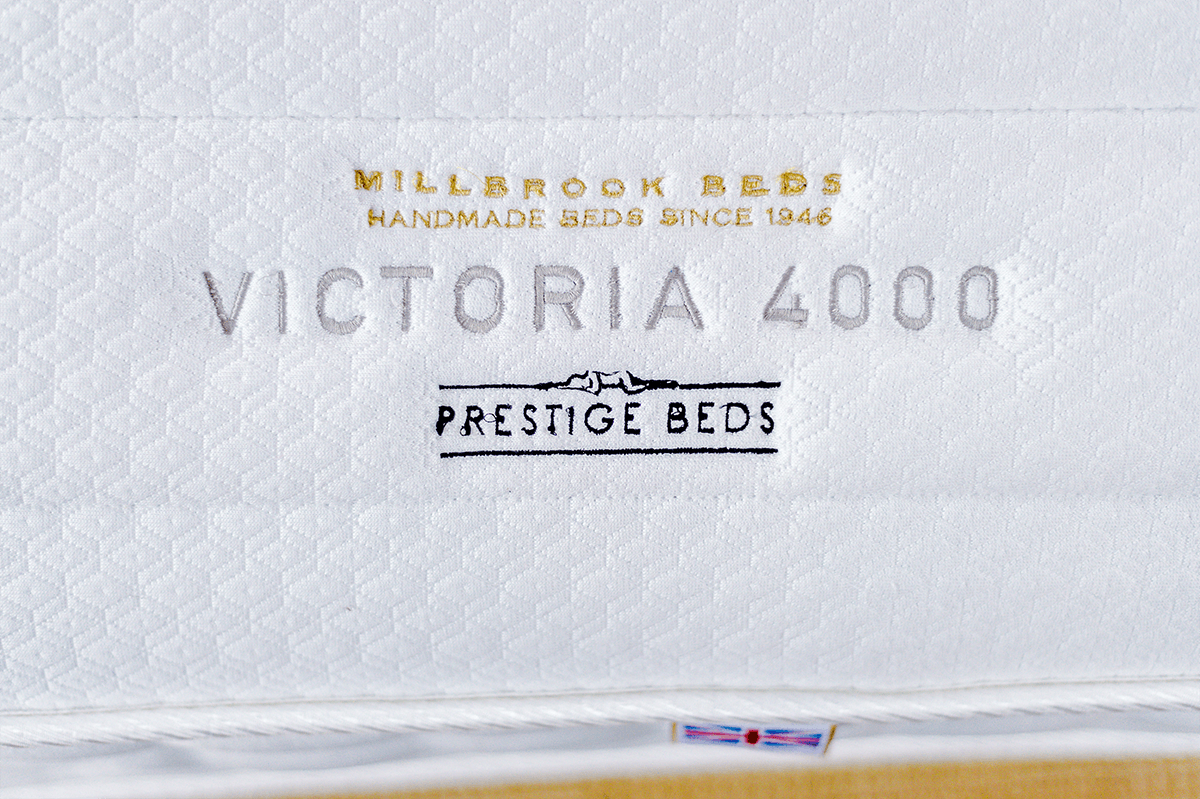 NEW Millbrook Victoria 4000 Quilted & Turnable Mattress