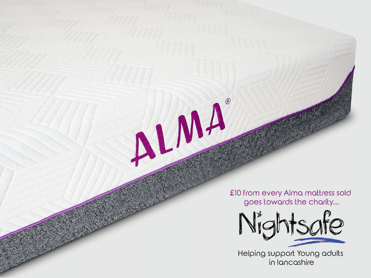 Alma Hybrid Mattress In A Box