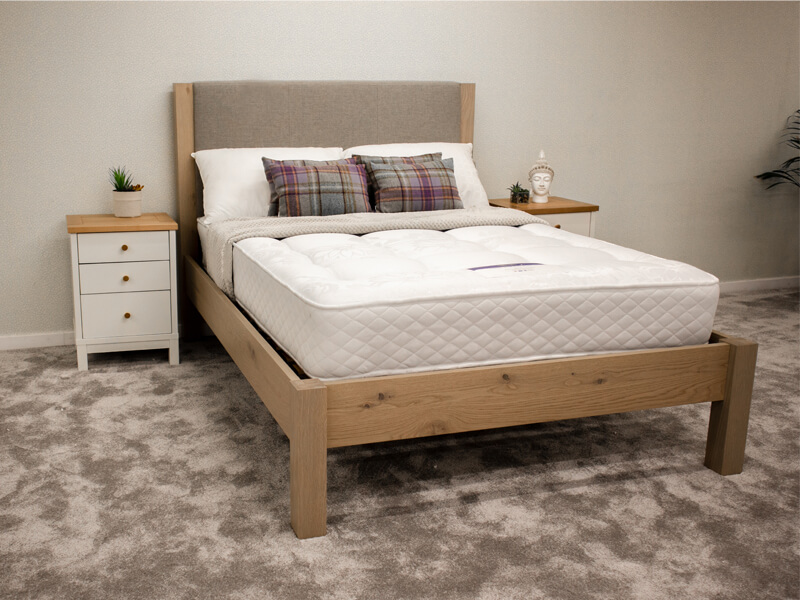 Turin Frame & Miracoil Mattress Package Deal - Double Size Only