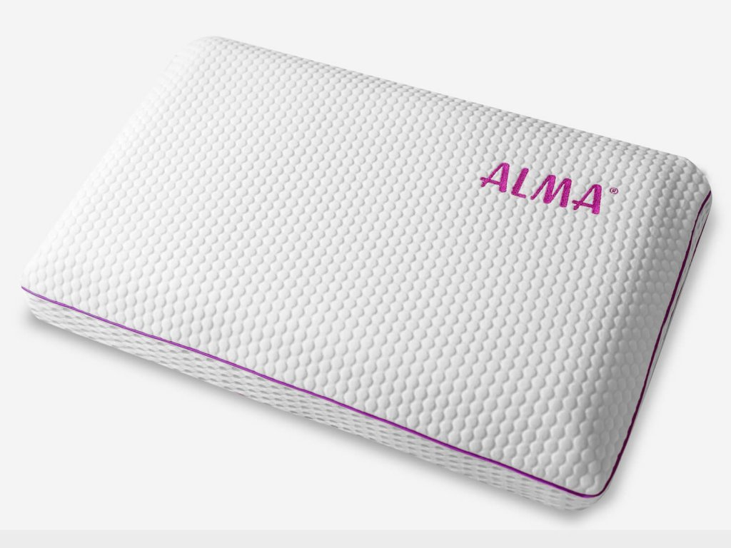 The Alma Haven gel-infused memory foam pillow is perfect for side sleepers.