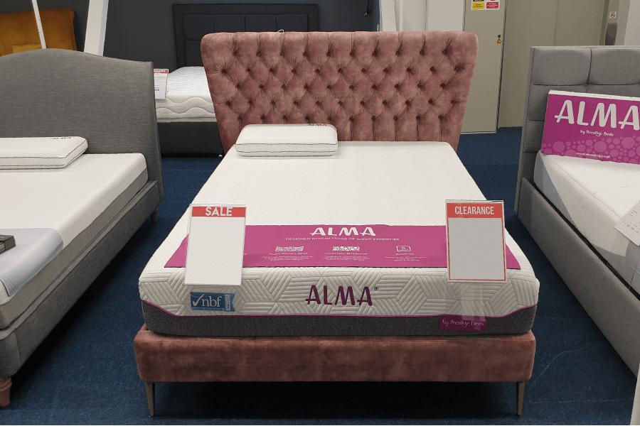 [CLEARANCE] Burgess Annabel Pocket Sprung Bed Frame (King Size)