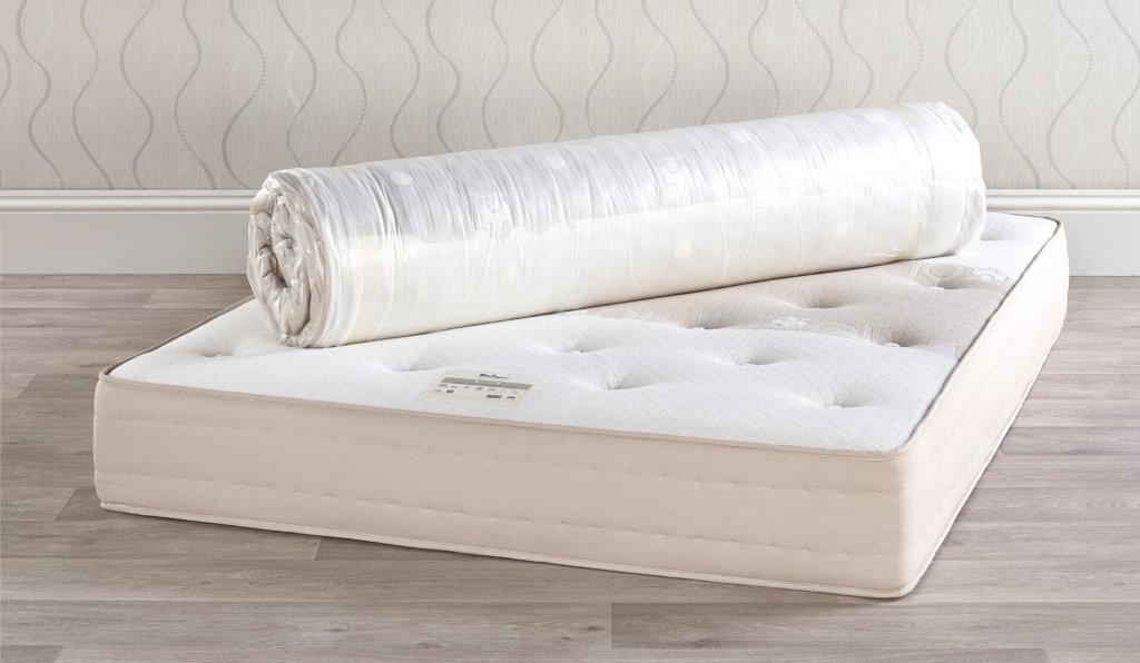 Relyon Wool Silk Cashmere 1390 Roll-Up Mattress