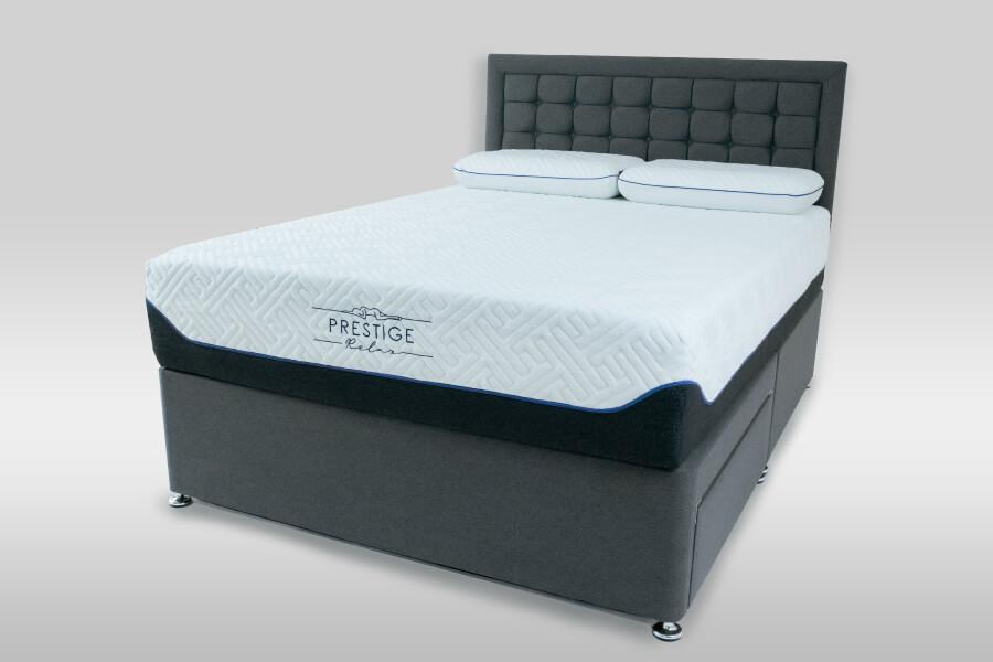 Prestige Relax Cumulus 8000 Divan Set & Headboard Package Deal