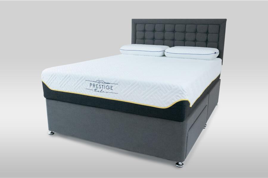 Prestige Relax Stratus 6000 Divan Set & Headboard Package Deal